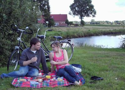 romantisches Picknick